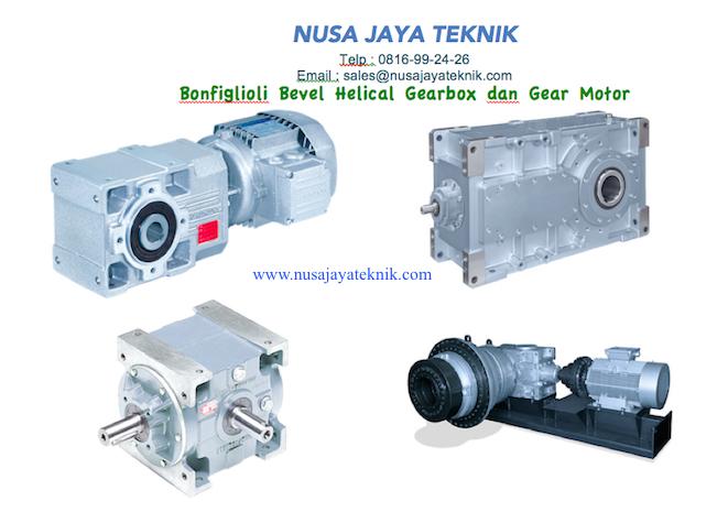 Bevel Helical Gearbox dan Gear Motor