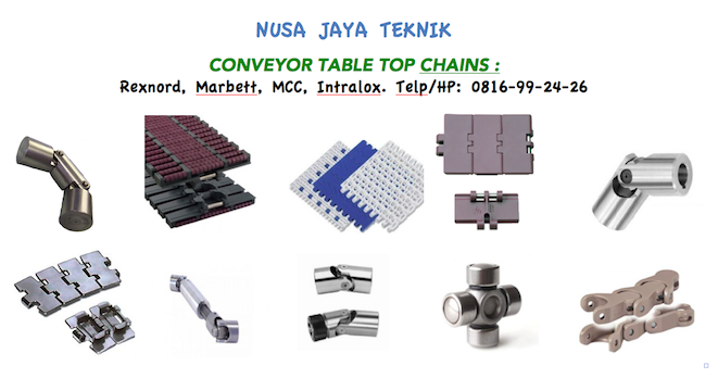 Conveyor Table Top Chains