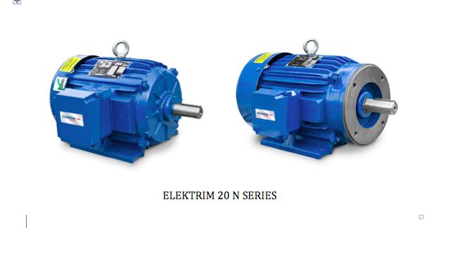 Elektrim Motor 20N Series