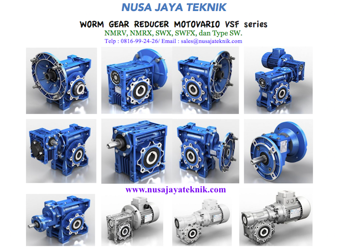 Motovario Worm Gear Reducer Type NMRV